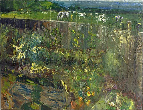 Garden by the ocean with cows   oil on board  94x125cms   2012-13.jpg